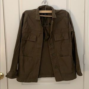 Georgia May Jagger Military Button Up Jacket